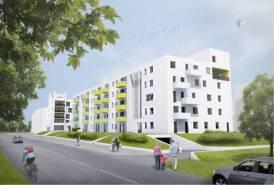 Eladó új tégla lakás, Debrecen, Belváros közelében